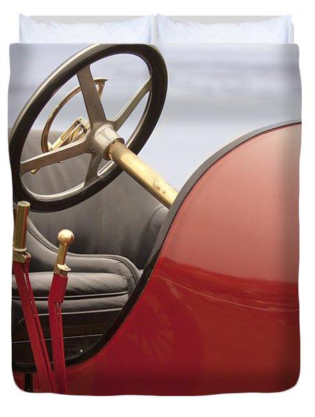 1910 Mercer Speedster Duvet Cover by Jill Reger