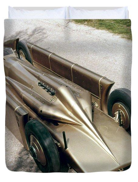 1929 Golden Arrow Duvet Cover