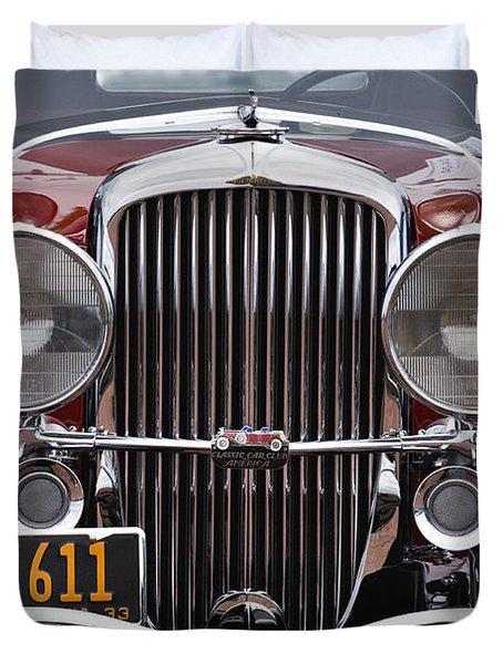 1933 Duesenberg Model J - D008167 Duvet Cover by Daniel Dempster