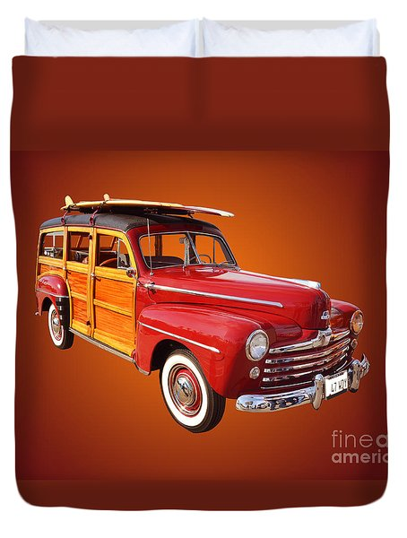 1947 Woody Duvet Cover