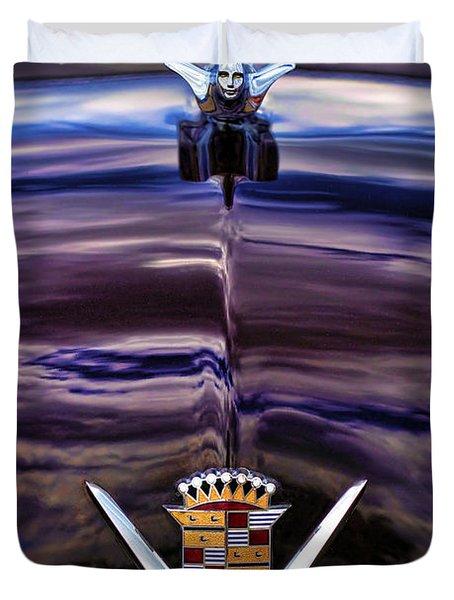 1949 Cadillac Duvet Cover by Gordon Dean II