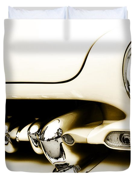 1949 Mercury Duvet Cover