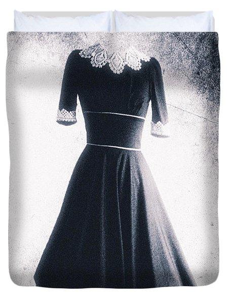 1950s Dress Duvet Cover by David Ridley