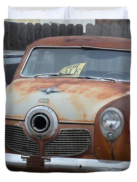 1951 Studebaker Duvet Cover