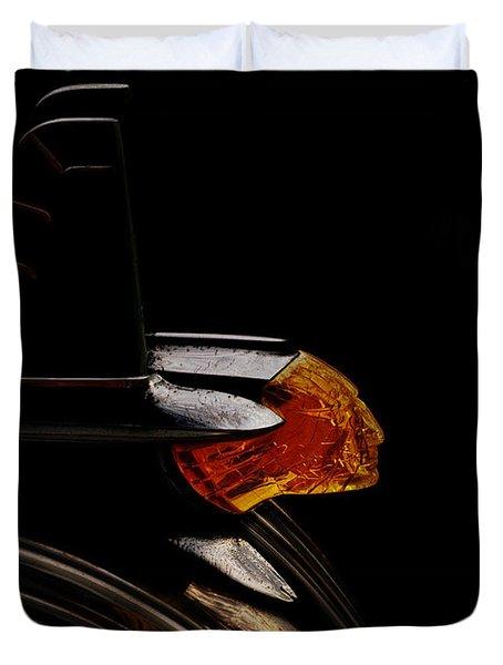 1953 Pontiac Indian Chief Duvet Cover