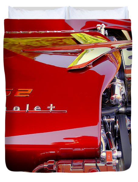 1955 Chevy Bel Air Custom Duvet Cover