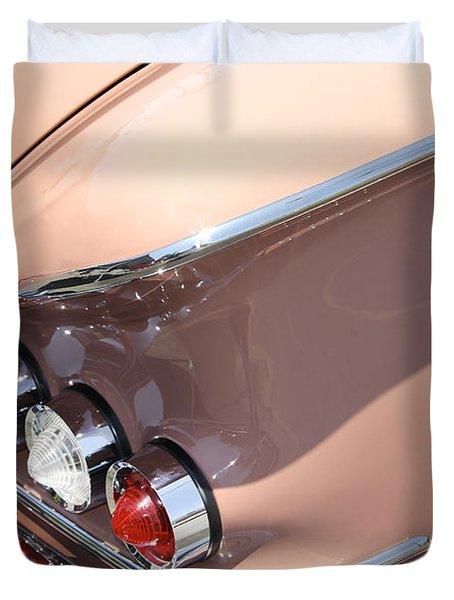 1958 Chevrolet Duvet Cover by Mike McGlothlen