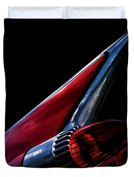 1959 Cadillac Tailfin Duvet Cover