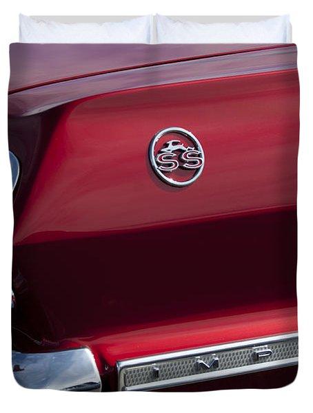 1963 Chevrolet Impala Ss Taillight Duvet Cover by Jill Reger
