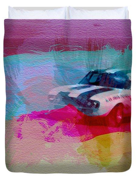 1968 Chevy Camaro Duvet Cover by Naxart Studio
