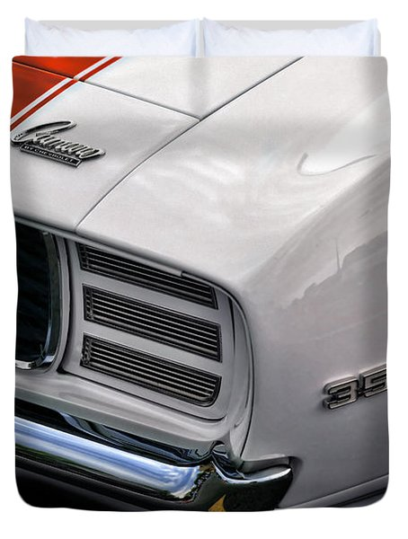 1969 Chevrolet Camaro Indianapolis 500 Pace Car Duvet Cover by Gordon Dean II