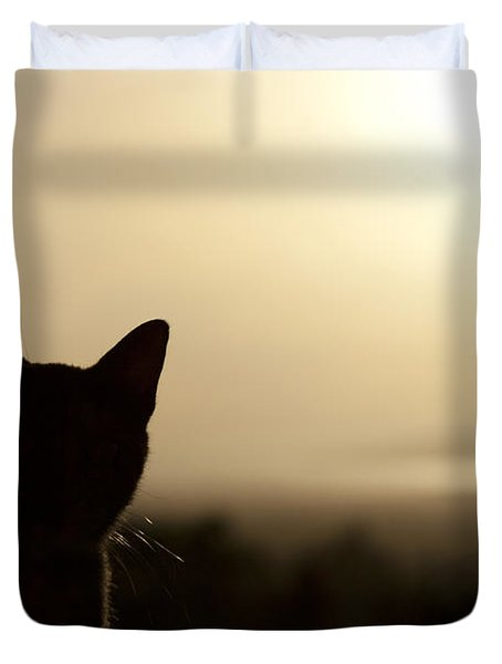 A Pure Soul Duvet Cover by Sharon Mau