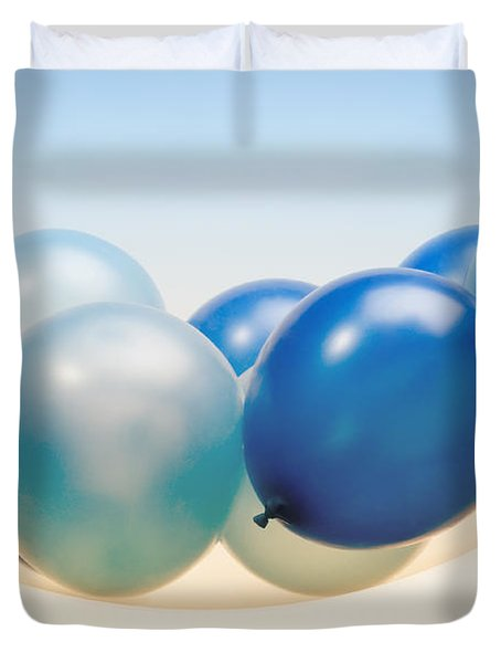 Abstract Balloon Duvet Cover by Setsiri Silapasuwanchai