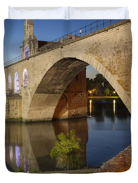 Avignon Bridge Duvet Cover
