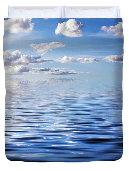 Blue Sky Duvet Cover by Kati Molin