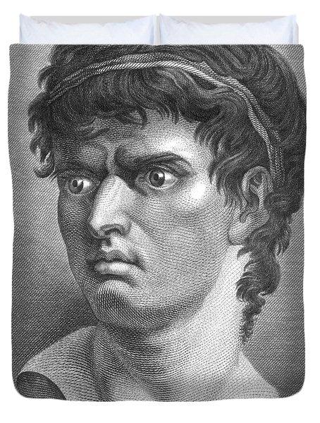 Brutus, Roman Politician Duvet Cover by Photo Researchers