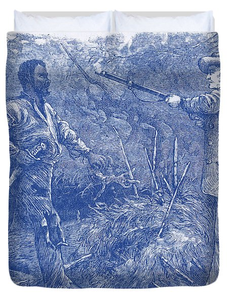 Capture Of Nat Turner, American Rebel Duvet Cover by Photo Researchers