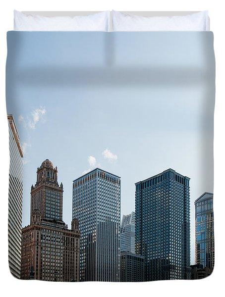 Chicago City Center Duvet Cover