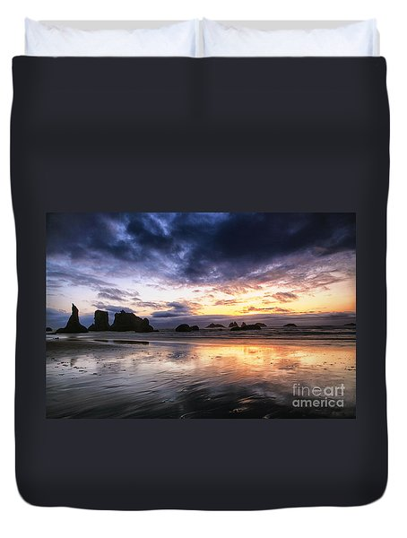 Clearing Storm Duvet Cover