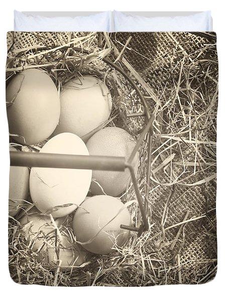 Eggs Duvet Cover by Joana Kruse
