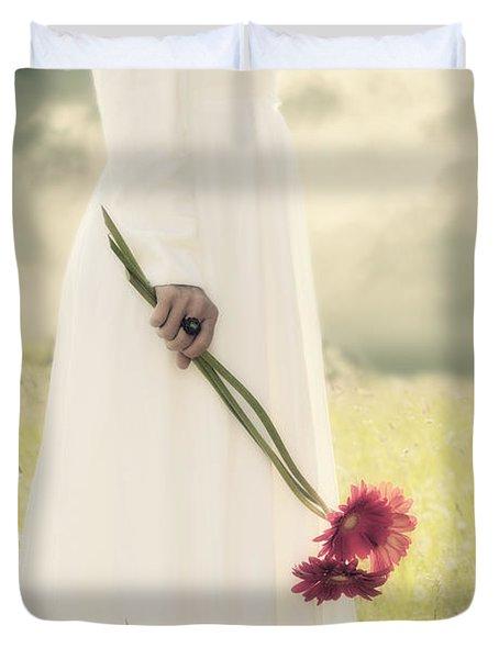 Flowers Duvet Cover by Joana Kruse