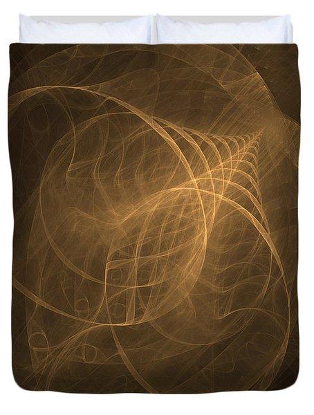 Fractal Image Duvet Cover by Ted Kinsman