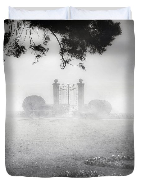 Gateway To The Lake Duvet Cover by Joana Kruse
