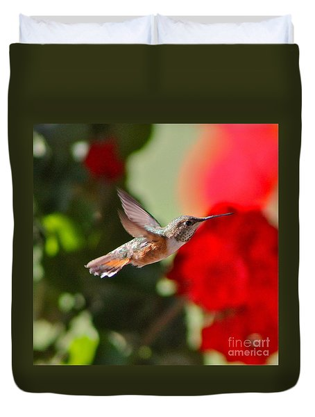 Hummingbird 3 Duvet Cover