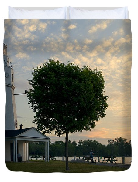 Kimberly Point Lighthouse Duvet Cover