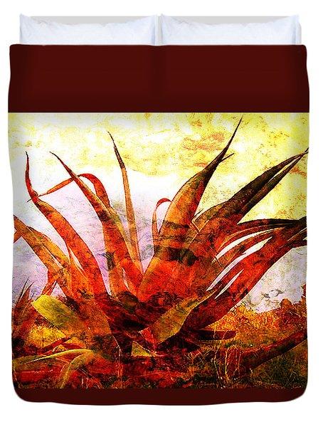 Maguey Duvet Cover