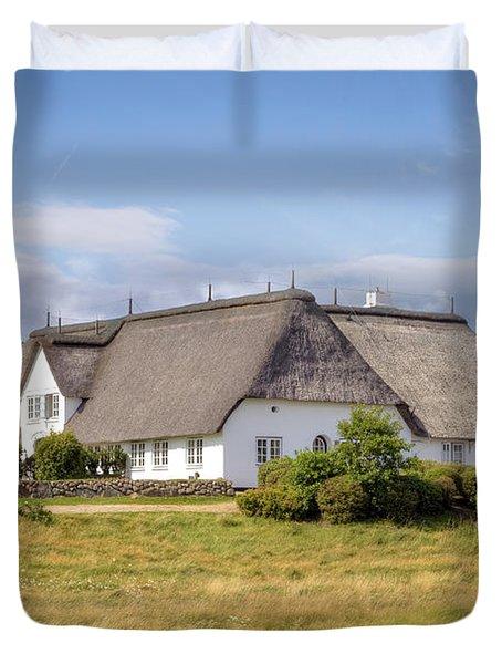Munkmarsch - Sylt Duvet Cover by Joana Kruse