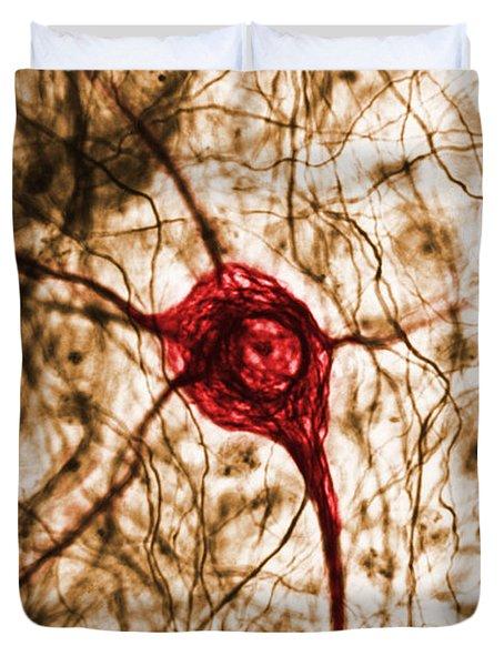 Neuron, Tem Duvet Cover
