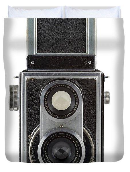 Old Camera Duvet Cover by Michal Boubin