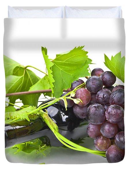 Red Wine Duvet Cover by Joana Kruse