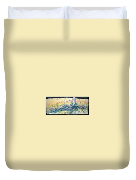 Rooted In Time Duvet Cover by Carolyn Rosenberger