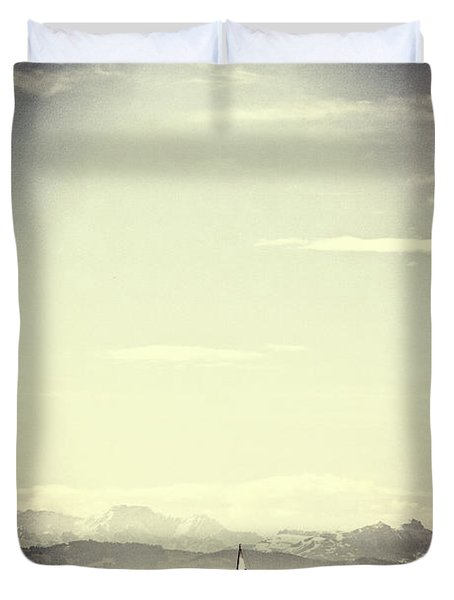 Sailing Boat Duvet Cover by Joana Kruse