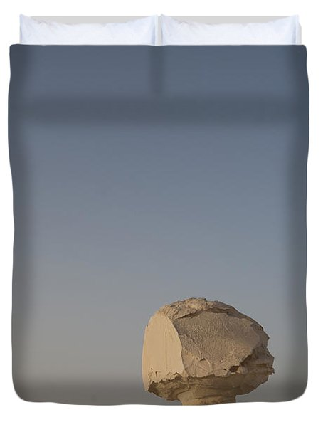 The Strange Eroded Formations Duvet Cover by Taylor S. Kennedy