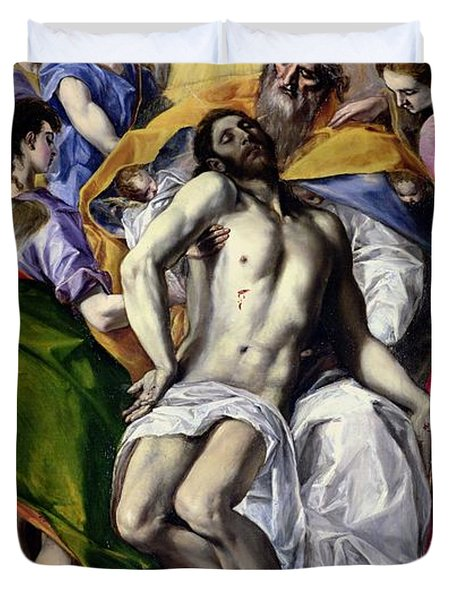 The Trinity Duvet Cover by El Greco