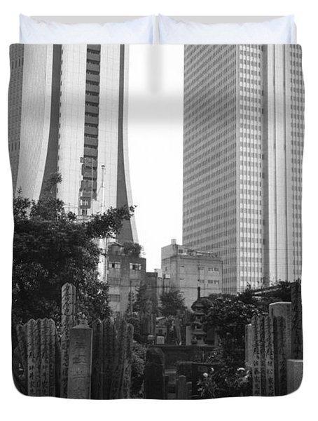 Tokyo Duvet Cover by Bernard Wolff