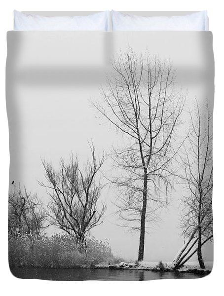 Wintertrees Duvet Cover by Joana Kruse