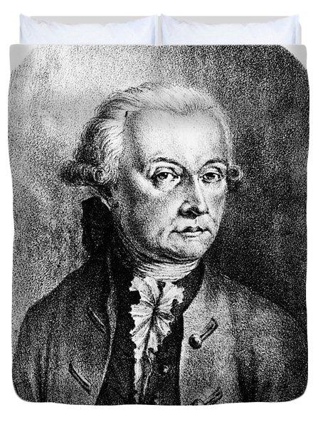 Wolfgang Amadeus Mozart, Austrian Duvet Cover by Photo Researchers, Inc.
