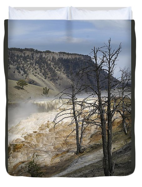 Yellowstone Nat'l Park Duvet Cover