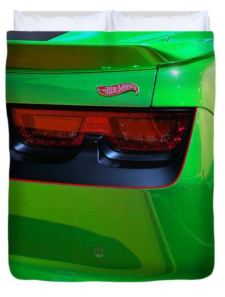 2012 Hot Wheels Chevrolet Camaro Concept Duvet Cover by Gordon Dean II