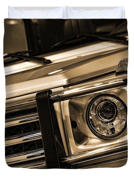 2012 Mercedes Benz G-class Duvet Cover by Gordon Dean II