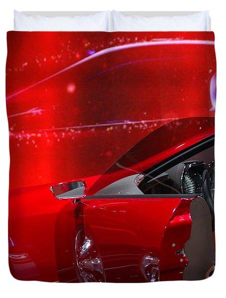 2013 Lexus L F - L C Duvet Cover