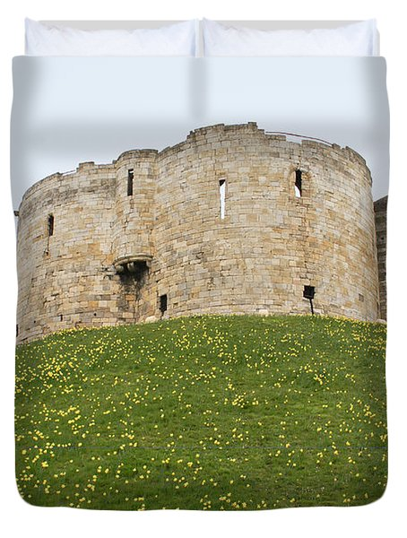 Scenes From The City Of York  Duvet Cover