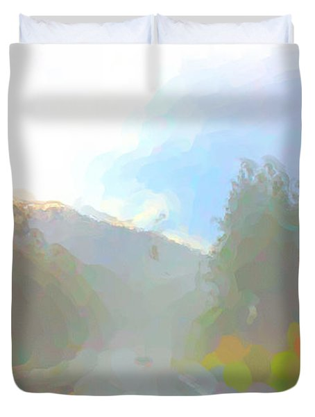 Untitled Duvet Cover by Adam Vance