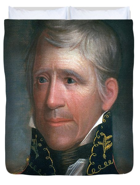 Andrew Jackson, 7th American President Duvet Cover by Photo Researchers