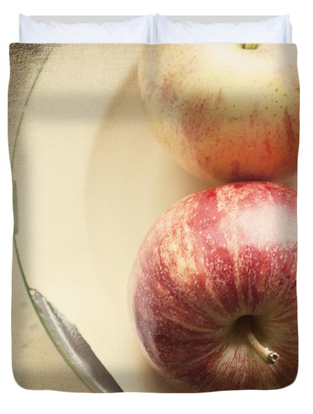 3 Apples Duvet Cover