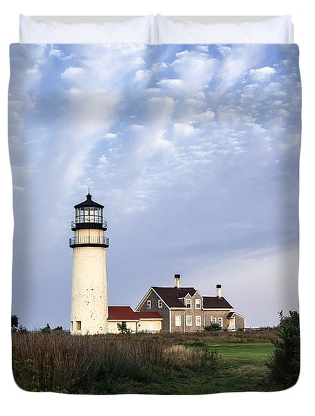 Cape Cod Light Duvet Cover by John Greim
